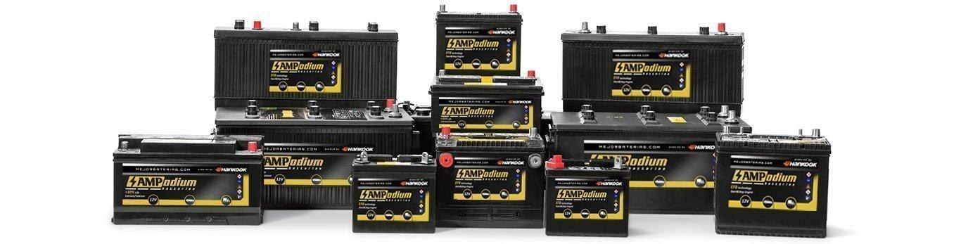 Baterías Ampodium